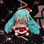 🌸 日版 SEGA 🌸 初音未來 💕 日空版 日本景品 🎄 聖誕裝初音未來 🎄 聖誕初音 絨毛 玩偶 娃娃