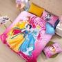 迪士尼 1.2M 單人床件組 床單組(被套/枕頭套/床單) 3公主 白雪公主 貝爾公主