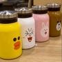 「預購」🌸Line Friends 兔兔 熊大 莎莉 可妮兔 布朗熊 可泡茶保溫瓶 創意保溫瓶 保溫瓶 不銹鋼保溫瓶