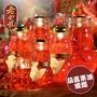 【老食說】拜拜祝壽 3號葫蘆果凍蠟燭(長12.5cmX寬5cmX一對)