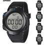 【時尚手錶】HONHX 成人學生 男士電子錶 大屏lLED顯示運動表