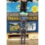 〔HW811851〕CASCADE 進口碳纖維登山杖 拐杖(2入組)(900元)