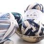 優質布條線附教程 如意鳥 斷染布條線 純色布條線 顏色豔麗 包包線 地毯線 手工diy毛線