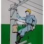 桿上安全帶-柱上安全帶-爬電線杆用安全帶