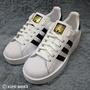 Kumo shoes Adidas Superstar Bold 厚底增高鞋金標女鞋黑白 (BA7666)