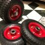 自售8吋風輪 打氣輪胎 雙軸承設計 手推車輪股車皆可用 售完為止現貨不多價格便宜