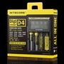充電器 NiteCore D4 微電腦 全兼容 智能充電器 18650電池自動識別LCD液晶螢幕 非I2 I4 D2