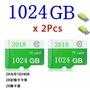 Micro TF內存卡class10 1024GB通用 TF卡顯微筆驅動器閃存盤SD卡記憶卡相機大內存卡微型內存卡