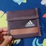 愛迪達  Adidas 小皮夾 紫色