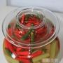 四川泡菜壇子腌菜缸玻璃家用透明加厚密封罐淹泡菜的罐子廚房用品 WD初語生活館