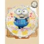 小小兵數位相片造型蛋糕-(6-10吋)-花郁甜品屋4a14-Minions台中造型生日蛋糕