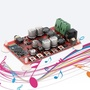 TDA7492P 藍牙V4.0數字功放板音頻接收功放模塊帶AUX接口