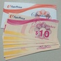 NTUC Shopping FairPrice Voucher $200 in value $10/$20 denomination