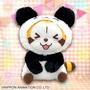 日本景品🐼世界名作劇場 小浣熊 拉斯卡爾 熊貓變裝 絨毛玩偶