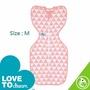 Love To Dream 蝶型包 巾竹纖維 輕薄款 粉紅M / 藍色M 『121婦嬰用品館』