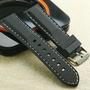 防水舒適-軍錶.運動表專用矽膠錶帶 ( 24mm.22mm.20mm )