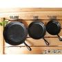 ~佐和陶瓷餐~【鑄鐵煎盤】鑄鐵煎盤/平底鍋/生鐵鍋/10.5吋/8吋/6.5吋