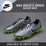 Mens Nike Magista Orden Firm Ground (FG) Soccer Boots