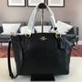 實物拍照 美國出貨COACH新款F36675女士荔枝紋頭層牛皮手提包 中號經典餃子包 單肩包 斜挎包 女生包包
