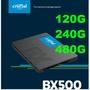 【宏晉3C】全新 Micron美光 BX500 120G/240G/480G 2.5吋固態硬碟 SSD 台灣代理商捷元貨