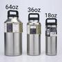 YETI 雪人液體304不銹鋼旅行保溫杯壺瓶冰粒桶18 36盎司 64OZ(369元)