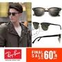 【雜鋪】Rayban 雷朋 RB3016 個性復古半框太陽眼鏡 墨鏡 男女款 潮流優雅 時尚百搭單品