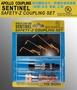 APOLLO 溶切器防逆火、防爆快速接頭組 (切用)牙式 氧氣 乙炔 含稅價 ☆台鈤五金☆
