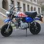 迷你小猴子摩托車復古迷你小摩托車迷你電動跑車助力車汽油摩托車