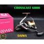 DAIWA遠投捲線器 17 CROSSCAST 6000-遠投、入門、磯釣、籠釣、