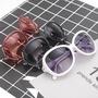 拉拉Lala's 【Ms298】新款大框太陽鏡鑲鑽個性時尚眼鏡女拍照凹造型網紅自拍墨鏡潮