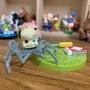 玩具總動員 寶寶 場景組 babyface 蜘蛛 嬰兒蜘蛛 阿薛的玩具