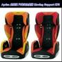 (自取可議)頂級 愛普力卡 Aprica Moving Support (橘黑)成長型輔助汽車安全座椅嬰幼兒耐用調整