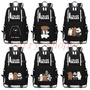 women casual v neck reglan personality tide brand we bare bear school bag bear