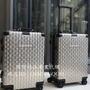 SUPREME行李箱男女拉桿箱 LV花紋  旅行箱-專櫃購入