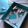 日本限定 Tiffany 玻璃杯組 紅酒杯 白酒杯 禮盒 新婚 新居落成