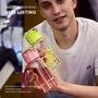 超快發貨   創意便攜 塑料兒童吸管 杯透明戶外tritan蛋白粉健身搖搖杯  運動水杯  網紅水杯 兒童水杯 男士水杯