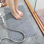 【現貨12H出貨】浴室防滑地墊 衛生間帶吸盤淋浴墊 大號脚踏墊 排水防水止滑墊 PVC按摩防滑墊   隔水防滑 居家必備