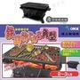 【露營趣】日本 ONOE CI-1607 尾上鉄鋳物こんろ角型燒烤爐 鑄鐵鍋爐 燒烤爐 BBQ烤肉架 荷蘭鍋爐 木炭暖爐 圍爐