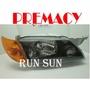 ●○RUN SUN 車燈,車材○● 全新 MAZDA 03 04 05 06 PREMACY 普力馬 黑框 大燈 黃角燈