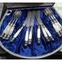 「古董」貴族純銀貝殼製餐具
