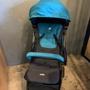 💥二手💥奇哥Joie pact lite dlx可折疊登機嬰兒手推車-藍 內含雨套+蚊帳+收納袋