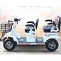 巴士老人電動車老年代步殘疾人雙人座四輪助力接送小孩觀光車鋰電