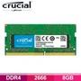美光 Micron Crucial NB(筆電用)-DDR4 2666-8G RAM/捷元公司貨/終身保固/CT8G4SFS8266