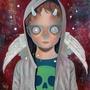下田光 2018限量絕版版畫 Death and Angel #2 全球限量50 非第五人格 HikariShimoda