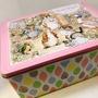 彼得兔波特小姐典雅芝麻蛋捲禮盒288g(附贈提袋)