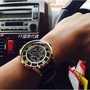 FF國際代購 富思 FOSSIL手錶 Townsman系列時尚復古鏤空大錶盤棕色潮流皮帶款自動機械男錶 ME3043