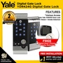 Yale YDR424G Digital Gate Lock (Free Yale YDR3110 Door Lock + Digital Door Viewer + Smoke Detector)