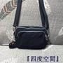 『四度空間』Kipling 猴子包 K12837 深藍色 二用包 側背包+腰包 休閒 多夾層 多功能 防水 輕量 耐磨