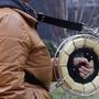 【不鏽鋼風箏線輪-背帶+支架(只有背帶+支架,其它不含哦)-1套/組】不鏽鋼風箏線輪手握輪輪線盤防倒轉風箏輪,多款可選-30012