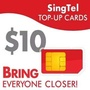 🚚 Online $10 Singtel Top Up